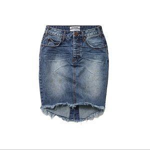 ONE TEASPOON | 2020 Denim Skirt